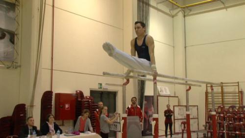 L'élite hennuyère de la gymnastique masculine à Mouscron