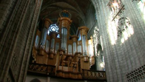 De l'Abbaye de Cambron à la cathédrale Ste Waudru