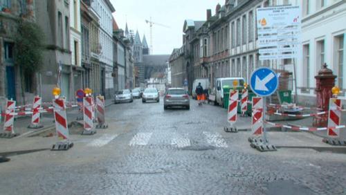 Rue Saint-Martin : respecter la zone 30 grâce aux travaux
