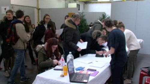 Le salon du job étudiant à Mouscron