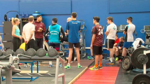 6 jeunes de l'Estu au centre de formation à Liège