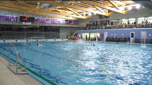 Demi-finales de la coupe de Belgique à La Louvière en Water-Polo