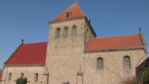 Rénovation de la toiture de l'Eglise d'Aubechies