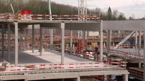 Les Bastions : ouverture d'une partie du nouveau parking souterrain