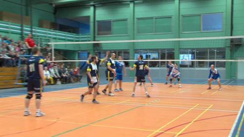 Mouscron terrasse Ath en P3 de volley-ball