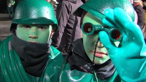 La Marche du Casseu d'Quinquets a ramené les Péruwelziens en enfance