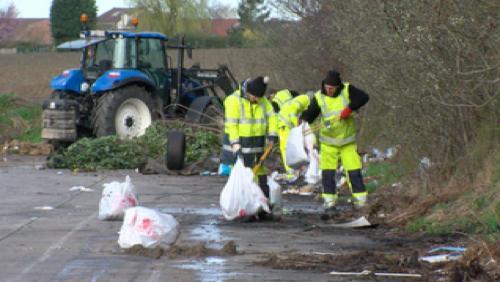 La ville lutte contre les dépôts sauvages
