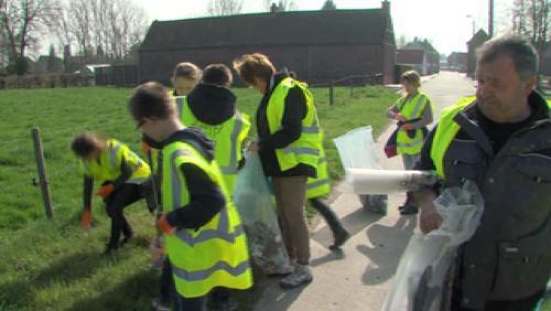 Opération de nettoyage Be Wapp à Taintignies et La Glanerie