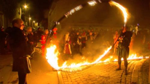 Carnaval Tournai, la nuit des intrigues, Big big bang, réduit des Sions