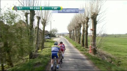 Ploegsteert a vibré avec Gand-Wevelgem