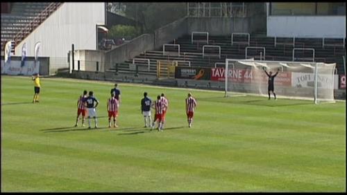 Le RFC Tournai partage à Quévy-Mons