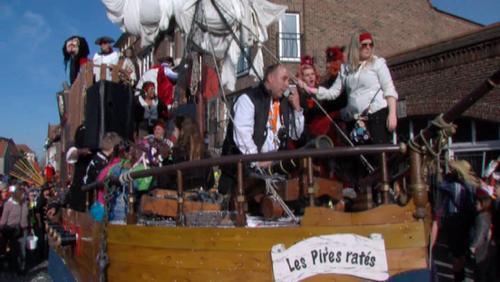 Carnaval de Tournai : les éléments se déchainent