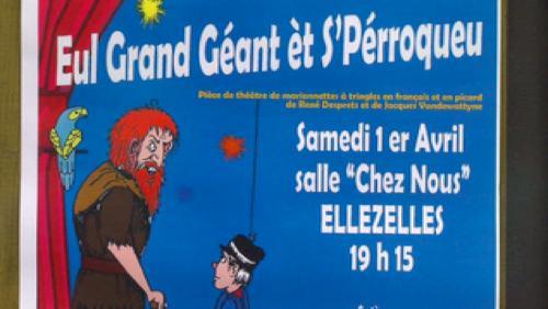 """""""Eul géant et s'perroqueu"""""""