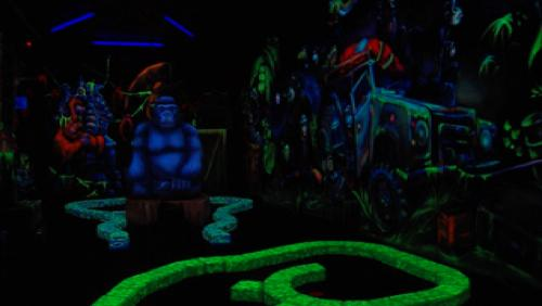 Un goolfy fluorescent à Jungle city