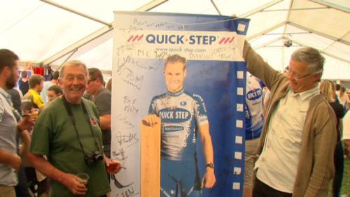 La fête à Tom Boonen - Paris-Roubaix