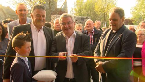 Inauguration maison rurale de Blaton