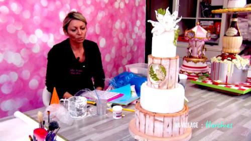 Cindy Sauvage, une médaille d'or en Cake Design!