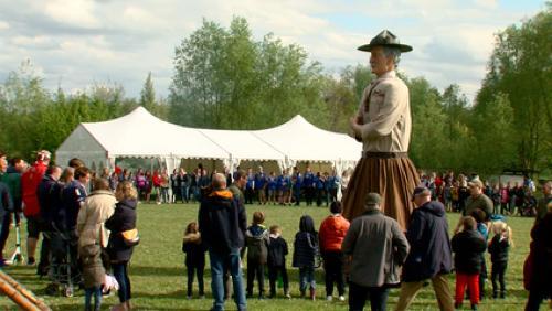 Les scouts de la première unité de Mouscron fêtent leurs 100 ans