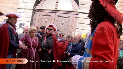 Promenade contée pour le 350ème anniversaire de Louis XIV