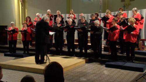 La Chorale Chanterelle et son concert théâtral