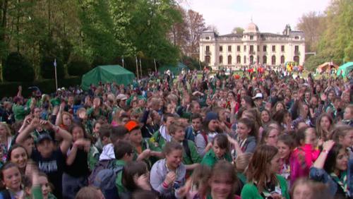 8500 patronnés réunis au parc d'Enghien