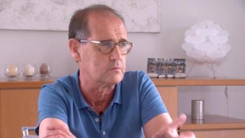 Gil Vandenbroucke, un double greffé du rein toujours actif