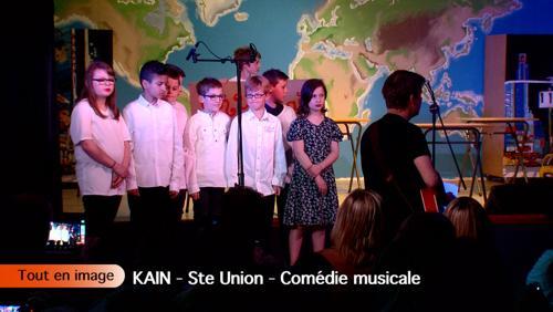 Comédie musicale à la Sainte-Union