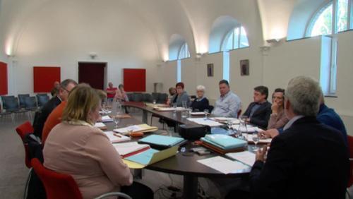 Nouvelle salle pour le conseil communal Flobecq