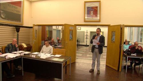 Samuel Batteux interpelle le conseille communal de Leuze