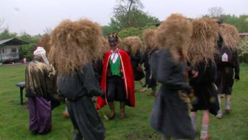 Traditionnel sabbat des sorcières
