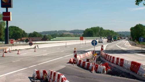 Fin du chantier de réhabilitation de l'autoroute E42 / A8 entre Kain et Lamain