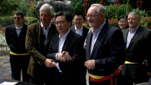 Un pace d'amitié signé entre Brugelette et la ville chinoise de Dujiangyan
