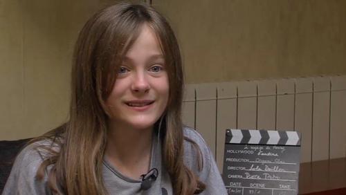 La jeune actrice Mouscronnoise, Fantine Harduin se prépare pour Cannes