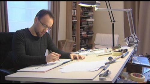 Chez Jodorowsky à Paris avec Jérémy