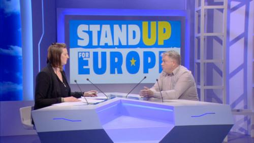 Invité : Christophe Blanckaert - Stand up for Europe