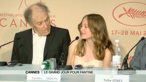 Anne Lebrun depuis le Festival de Cannes