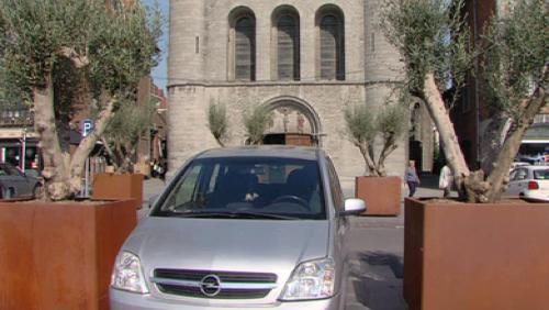 Place aux oliviers sur la Grand-Place
