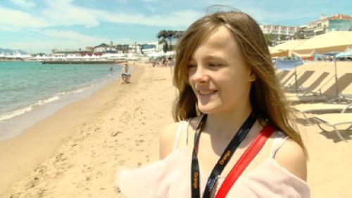 Cannes : Fantine sur les marches