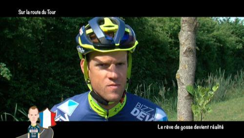 Thomas Degand évoque son Tour de France