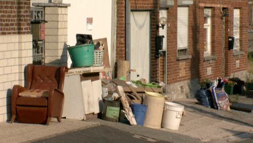 Le jour des grandes poubelles à Bouvignies