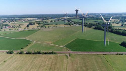 4 éoliennes à Ville Pommeroeul d'ici 2020