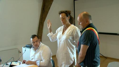 Silly : Audrey Trentesaux a prêté serment