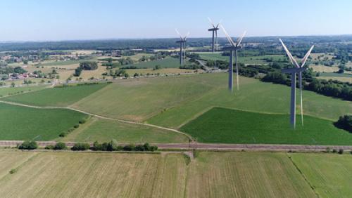 4 éoliennes à Ville-Pommeroeul d'ici 2020