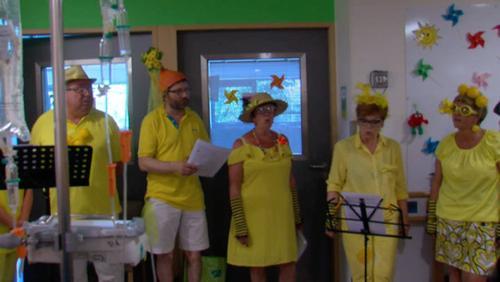 Une chorale en pédiatrie, musique pour tous !