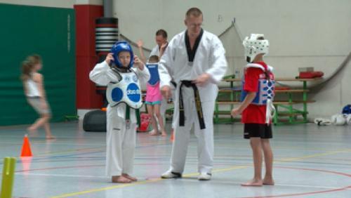 Du taekwondo, de la gym ou encore du One Wall après les examens
