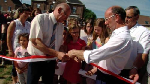 Froidmont : inauguration de la nouvelle école communale