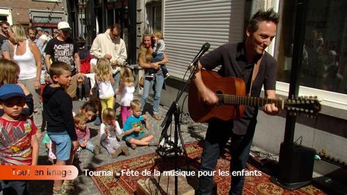 Fête de la musique pour les enfants