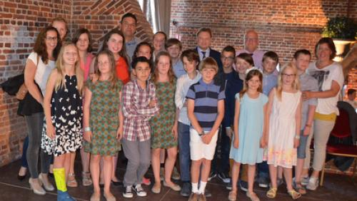 La commune met à l'honneur les élèves de 6e primaire de l'entité