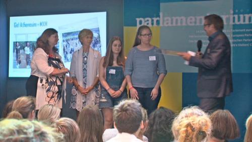 Des élèves récompensés au parlement européen