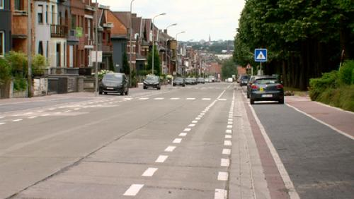 Où est la piste cyclable en site propre de l'avenue du Parc?